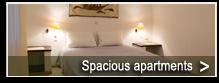 Geräumige Apartments