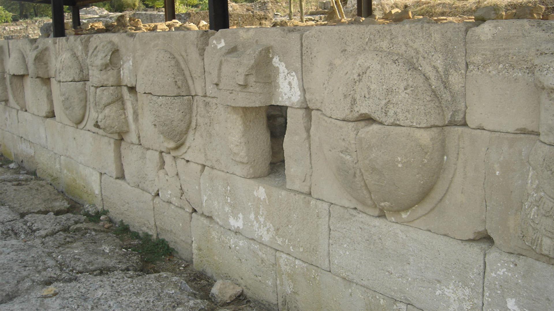 Древний Дион-самое важное македонское святилище