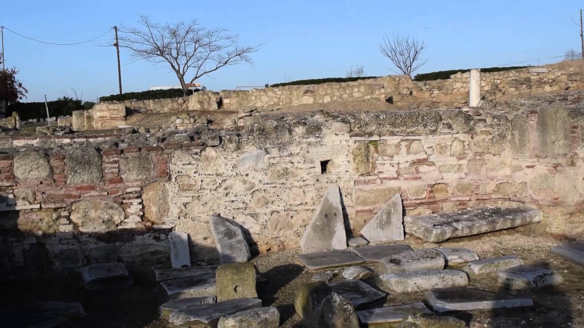 Древняя Пидна-Майор, археологические раскопки