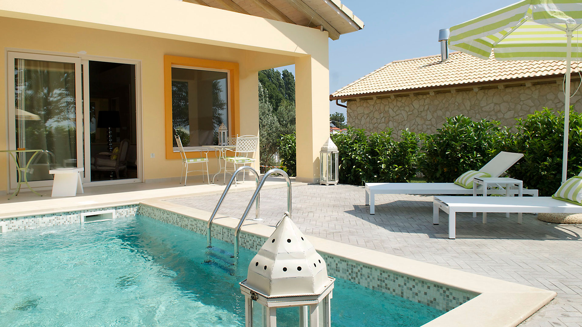 VIP Villa ''King of Olympus Package'' designed by TRAVEL CHANNEL