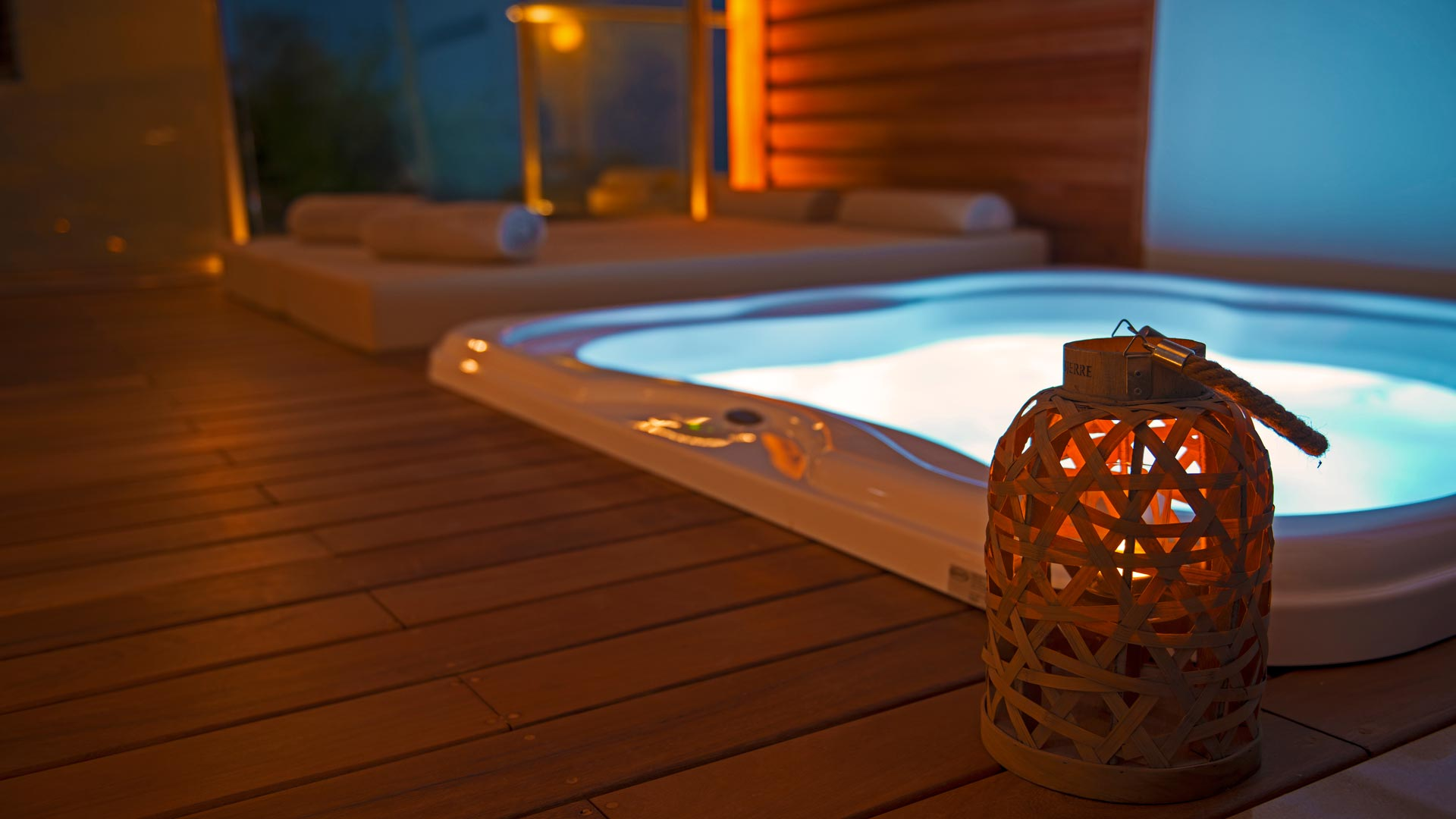 Bungalow-sea view | outdoor jacuzzi