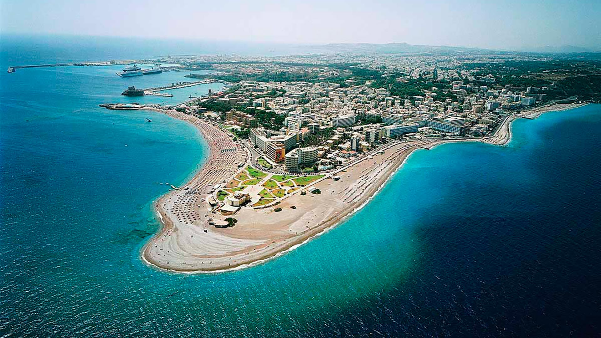 Die Insel Rhodos